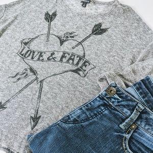 ➕ PLUS 1X Torrid Love & Fate Light Sweater